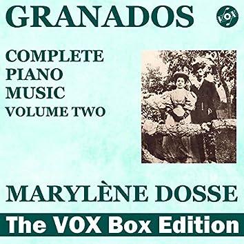 Granados: Complete Piano Music, Vol. 2