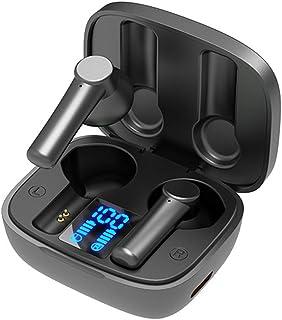 $25 » Sponsored Ad - BRKEPATN Wireless Earbuds Bluetooth Headphones Stereo Sound Earphones Wireless Charging Case & Power Displa...