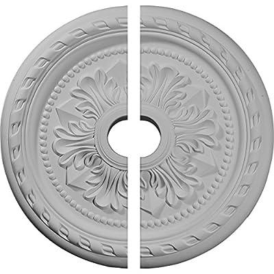 Ekena Millwork 23 5/8-Inch OD x 3 5/8-Inch ID x 1 5/8-Inch P Palmetto Ceiling Medallion
