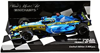 Kyosho 2 in Minichamps DP 1/43 Renault F1 R26 Alonso 2006 French GP (Japan Import)