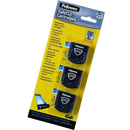 Fellowes Safecut: Pack 3 cuchillas de repuesto