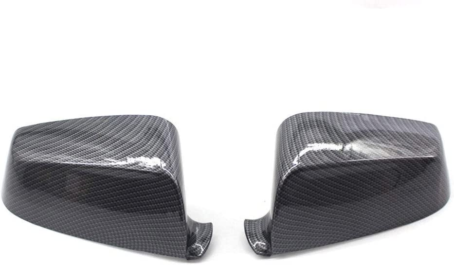 Car Rearview Mirror Max 89% OFF Covers Purchase 2PCS Carbon Fiber Pattern 51167187432