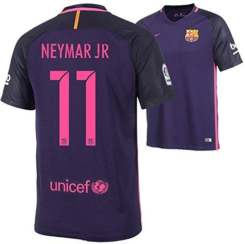 Camiseta Nike FC Barcelona 2016–2017Away, Neymar 11