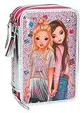 Depesche 8989 - Federtasche 3 Fach Top Model Friends, Pink