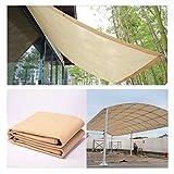 Anti-UV Parasole Beige netto esterno del giardino solare Sunblock Ombra serra stoffa netto Impianto 85% di ombreggiatura tariffa for il cortile, balcone, tetto, posto auto coperto, all'ombra delle pia