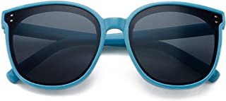 Pteng - PersonalityKids Gafas de sol polarizadas UV400 Gafas de protección Marco flexible de silicona Gafas cómodas de moda para niños niñas de 3 a 12 años