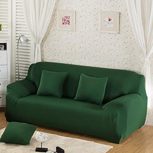 Funda de sofá elástica Moderna para sofá de Esquina, Funda para sofá, Funda para Silla para Sala de Estar A17, 4 plazas