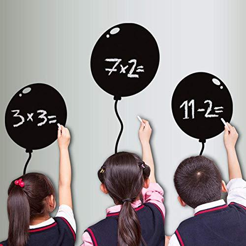 Olivialulu Leuke Cartoon Verwijderbare Blackboard Sticker Craft Home Decoratie Krijtbord Krijtbord Waterdichte Stickers Zwart Gratis Verzending Balloon
