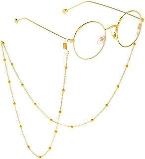 glasses chain Stainless Steel Sunglasses Cord Neck Strap Holder 70cm