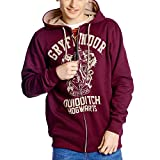Harry Potter Hooded size S Sweater Gryffindor Quidditch Vintage sudadera - official...
