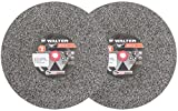 Walter 12E647 Bench Grinding Wheel – Fine Grit 60, 10 in. Finishing Wheel for Bench and Pedestal Grinders. Abrasive Finishing Supplies