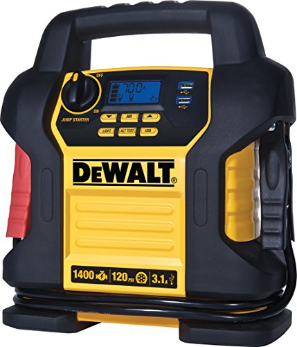 Our #7 Pick is the DeWalt DXAEJ14 Digital Power Station Portable Jump Starter