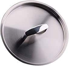 All-Steel Frying Pan Lid, Milk Soup Pot Lid, Stainless Steel Frying Pan, Iron Pan, Spare Kitchen Lid