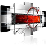 murando - Cuadro en Lienzo Abstracto Moderno 200x100 cm Impresión de 5 Piezas Material Tejido no Tejido Impresión Artística Imagen Gráfica Decoracion de Pared Arte a-A-0052-b-n