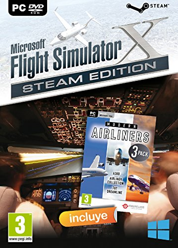 Microsoft FSX: Flight Simulator X (DVD) + Modern Airlines