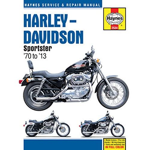 Harley-Davidson Sportster '70 to '13 (Haynes Service