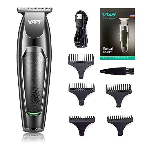 VGR V-030 Professional Hair Trimmer Runtime: 100 min Trimmer for Men (Black)