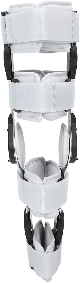 Gray Leg Brace Aluminum Alloy and Made NEW before selling Composite Max 90% OFF Cloth Limit F