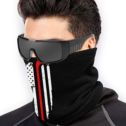 ShiHaiYunBai Halstuch/Kopftuch Hockey American Flag Soft Neck Warmer Gaiter Face Protective Scarf Balaclavas Unisex