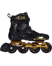 حذاء تزلج بعجلات مصفوفة للتزلج المتعرج للجنسين من ليكو، للياقة البدنية للبالغين