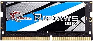 G.SKILL Ripjaws SO-DIMM سلسلة DDR4 2666 PC4-21300 16GB(16GBx1) 260-Pin الحاسوب المحمول مجموعة ذاكرة الحاسوب المحمول طراز F...