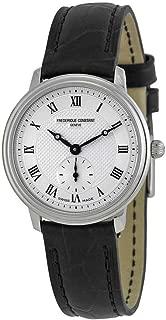 Frederique Constant Slimline Quartz Movement Silver Dial Ladies Watch FC-235M1S6