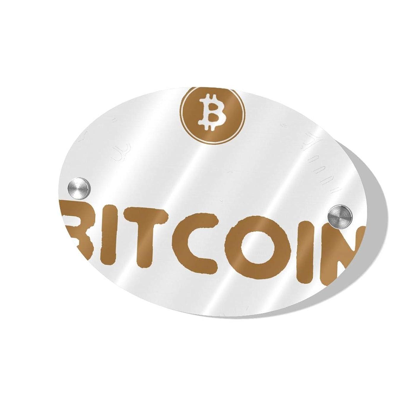 ピカソ反映するヒゲクジラThe Next Bitcoin Millionaire ハイエンド、スタイリッシュ、シンプル、人気、絶妙でエレガントな楕円形のドアプレートは、頑丈で美しく、取り付けが簡単です