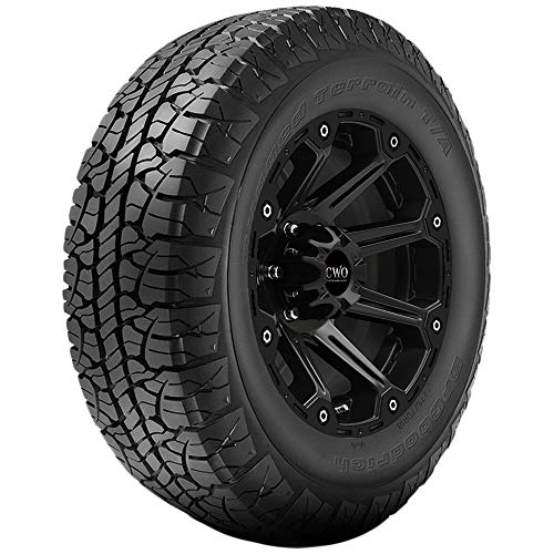 BFGoodrich Rugged Terrain T/A Radial Car Tire for Light Trucks, SUVs, and Crossovers, P275/55R20 111T BSW