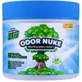 ODOR NUKE Human Urine Odor Neutralizer Tablets To...