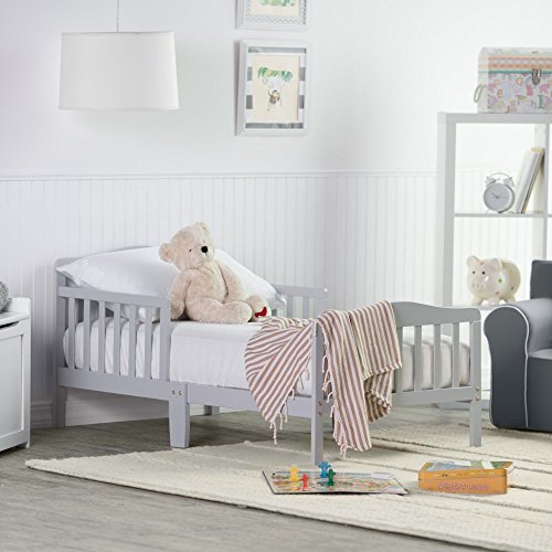 Check Out This Orbelle Trading Toddler Bed, Grey