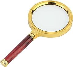 Okayji Antique Handheld Magnifier Magnifying Glass, 3X (80mm)