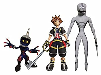DIAMOND SELECT TOYS Kingdom Hearts Select  Sora Dusk & Soldier Action Figure Set
