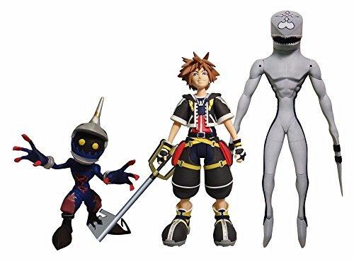 DIAMOND SELECT TOYS Kingdom Hearts Select: Sora, Dusk, & Soldier Action Figure Set