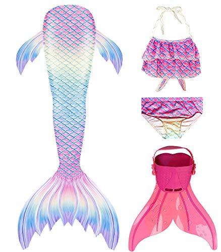 shepretty Traje de baño de Cola de Sirena para niñas,fenfenG2,130