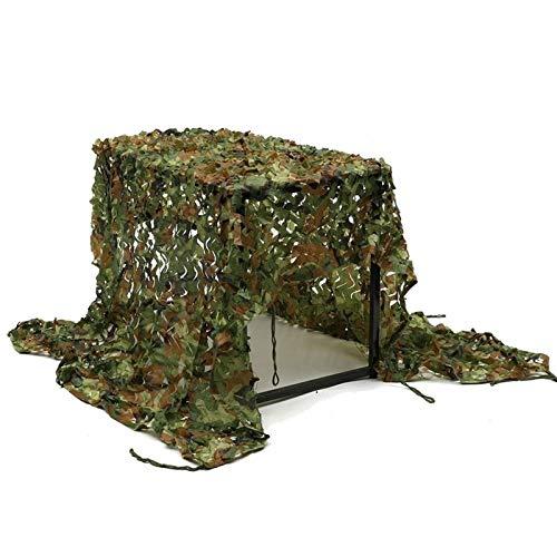 2Mx3M Tarnung Tarnnetz Netto-Netto-Sonnenschirme, Schießen Tibetische Armee Militärische Jagd Wald, Oxford Tuch Zeltkampieren (Size : 7 * 7m)