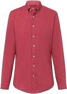 Hackett Camisa de manga larga para hombre, color morado