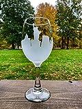 New York City Skyline Wine Glass • NYC