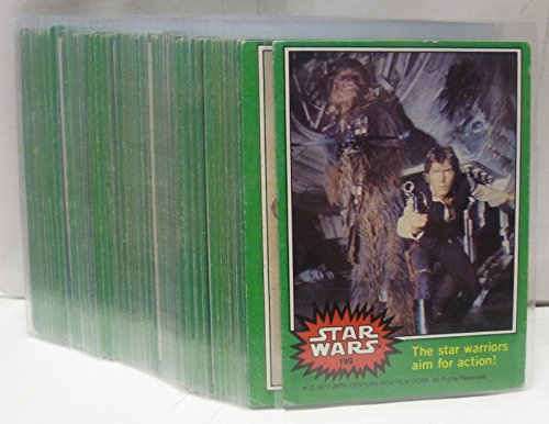 1977 Topps Star Wars Green Series 4 - Card Set of 66 Cards - A New Hope image