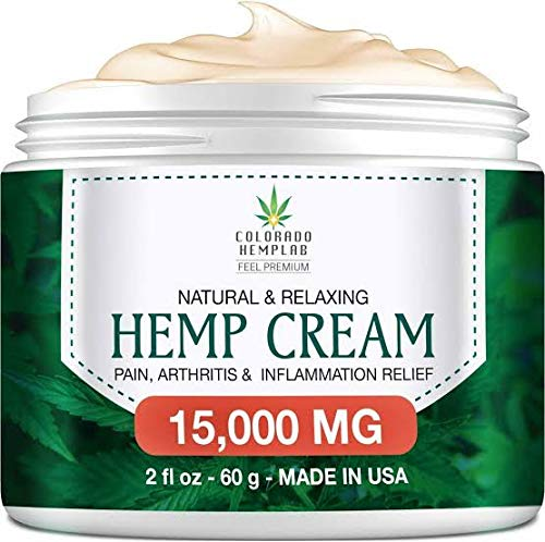 Pain Relief Cream - Maximum Strength 15,000 MG - Fast Relief from Pain, Ache, Arthritis & Inflammation - Made in USA