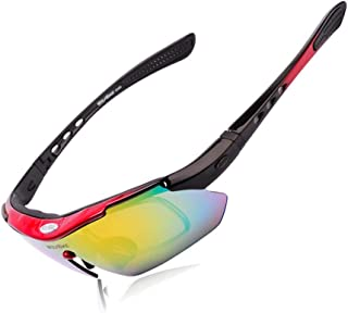 Cycling Goggles Sunglasses Sports Goggle Shooting Bicycle Motorcycle Sun Glasses Cycle Glasses 5 Len