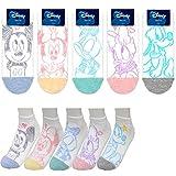 Charakter Knöchel Socken 5 Paaren Mickey Maus, Minnie Maus, Ente Donald, Ente Daisy, Pluto Sneakersocken