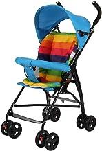 Carritos y sillas de Paseo Cochecito de bebé, Portátil Ligero, Paraguas Plegable Simple, Carrito de niño pequeño para bebés y niños Bebé Sillas de Paseo (Color : A)