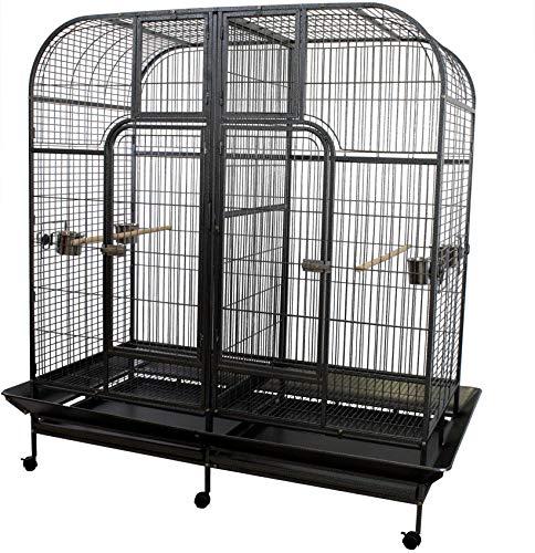 Pet's Solution Gabbia voliera per pappagalli Uccelli Ara cacatua amazzoni Open Space
