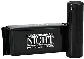 Emporio Armani Night By Giorgio Armani Mens Eau De Toilette (EDT) Spray 1.7 Oz