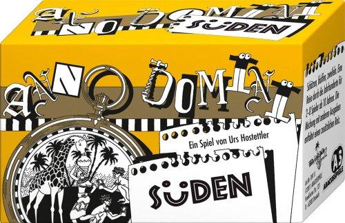 ABACUSSPIELE 09111 - Anno Domini - Süden, Quizspiel, Schätzspiel, Kartenspiel