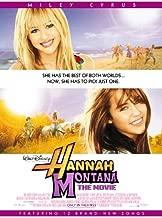 HANNAH MONTANA THE MOVIE MOVIE POSTER 2 Sided ORIGINAL 27x40