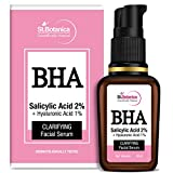 StBotanica Bha Salicylic Acid 2% + Hyaluronic Acid 1% Skin Clarifying Face Serum, 20 ml body chemical peels May, 2021