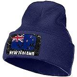 Bonnet Bonnets Bonnets Drapeau Nouvelle-Zélande De Football Rugby Cap Hommes Femmes Bonnets À Tricoter Stretchy & Soft Beanie