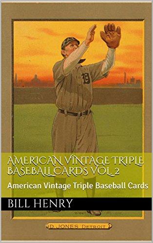 American Vintage Triple Baseball Cards Vol. 2: American Vintage Triple Baseball Cards (English Edition)