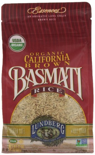Lundberg Organic California Brown Basmati Rice 32 Ounce